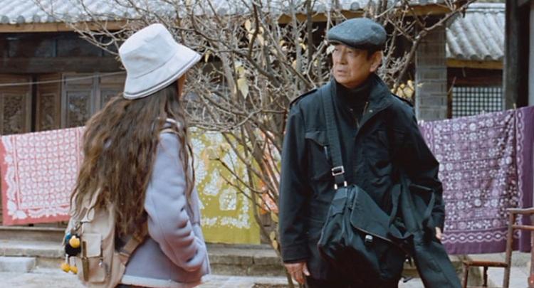 Mr Takata and translator Jasmine.