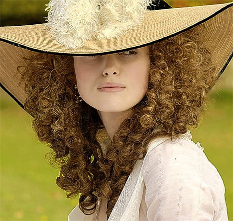 A fine hat for Georgiana