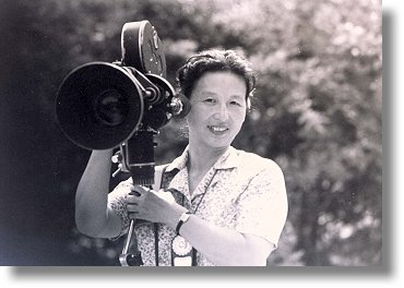 """Before the New China was established in 1949, Chinese women were looked down upon by society. In 1950, we started working as camerawomen for the Television Media Department. At that time, very few women worked in camera."""