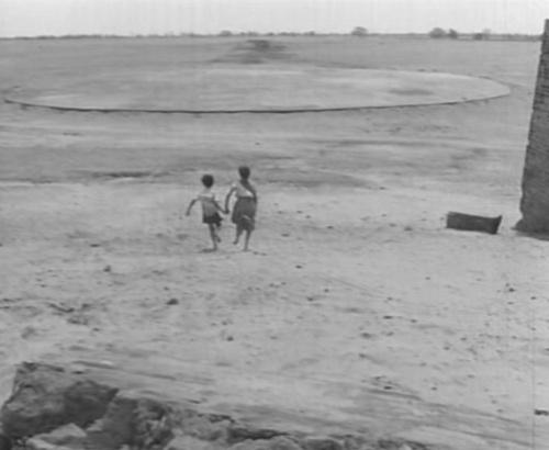 A longshot of the abandoned airfield in Subarnarekha