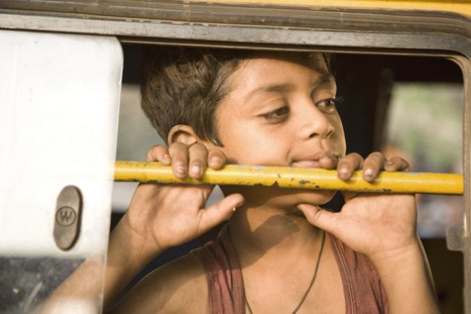 Azharuddin Mo Ismail as Salim in Slumdog Millionaire