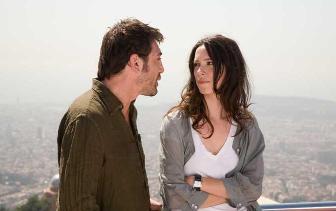 Javier Bardem and Rebecca Hall