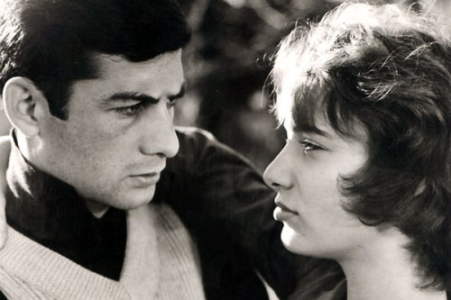 Bernadette Lafont with Jean-Claude Brialy