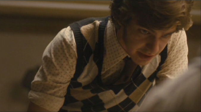 Andrew Garfield as the young reporter in Red Riding: 1974