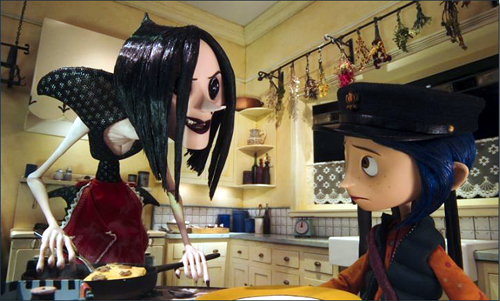 Coraline – a rare female action hero?