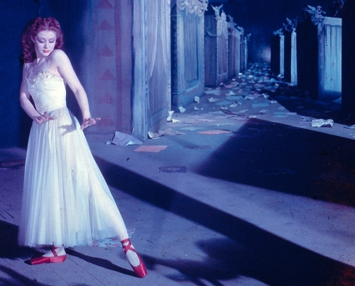 Moira Shearer as the ballerina who must dance.