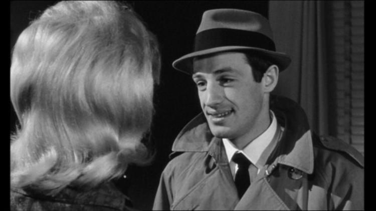 Jean-Paul Belmondo as Silien in Le Doulos (d. Jean-Pierre Melville, 1962)