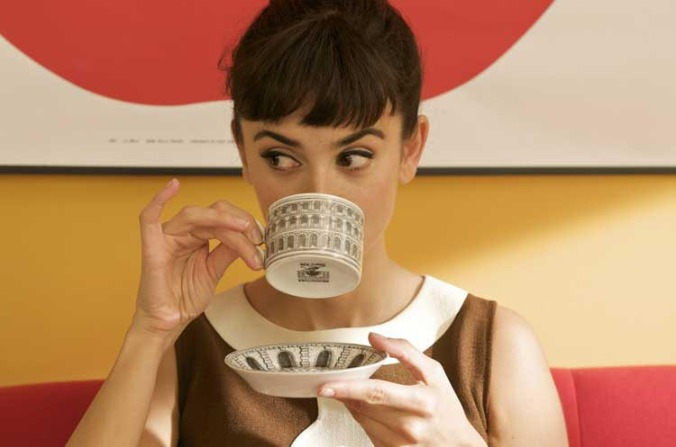 Penélope as Audrey in the film within a film in Broken Embraces