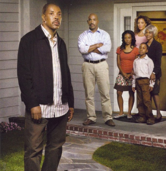 The cast of Relative Stranger in a staged promo image.