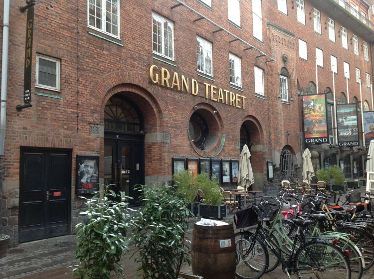 The Grand Teatret, the principal arthouse cinema in the centre of Copenhagen.