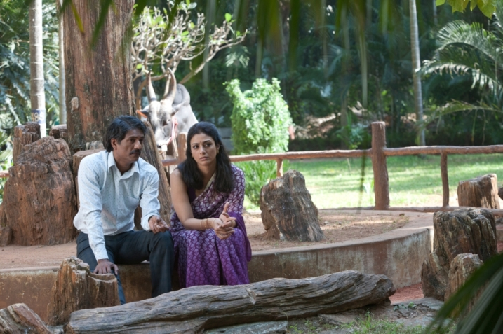 Adil Hussain and Tabu as Pi's parents