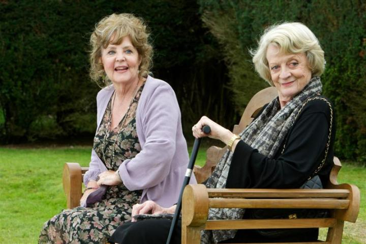 Pauline Collins and Maggie Smith