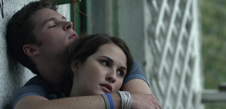Richard (Jack Reyner) and Lara (Roísín Murphy). photo © Element Pictures