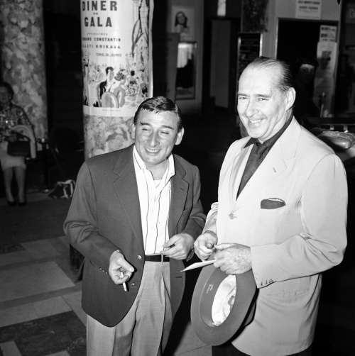 Roberto Rossellini (right) and Renato Rascel, 1959 from: http://everyday-i-show.livejournal.com/157619.html