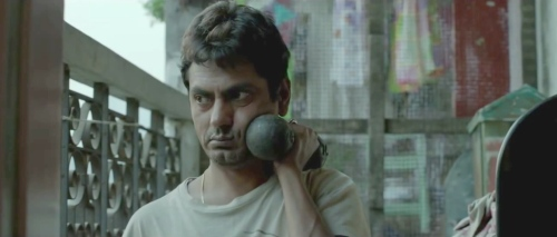 Nawazuddin Siddiqi as the failed actor in Dibanakar Banerjee's segment