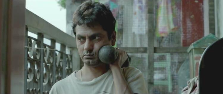 Nawazuddin Siddiqi as the failed actor in Dibanakar Banerjee's segment