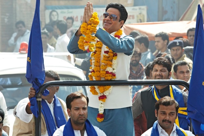 Manoj Bajpai as the villainous local politician
