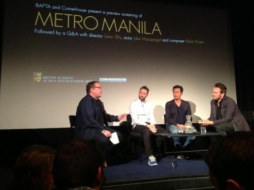 (From left) Andy Willis, Sean Ellis, jake, Robin Foster