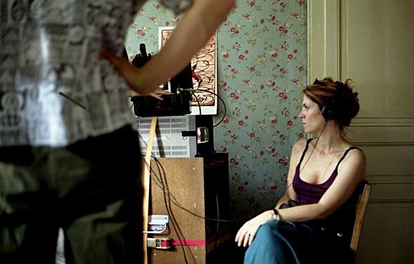 Agnes Jaoui on set (from the blog at http://jaouibacri.blogspot.co.uk/