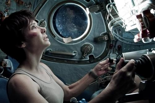 Sandra Bullock – alone in space?