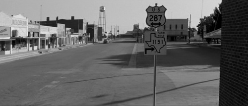 The small Texas town in Hud