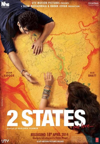 Arjun Kapoor and Alia Bhatt as the lovers trying to cross the North-South divide in India