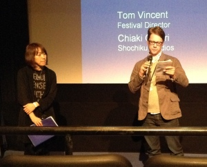 Tom Vincent and Chiaki Omori gave an introduction to the film and the work of Nomura and Matsumoto before each of the last four films.
