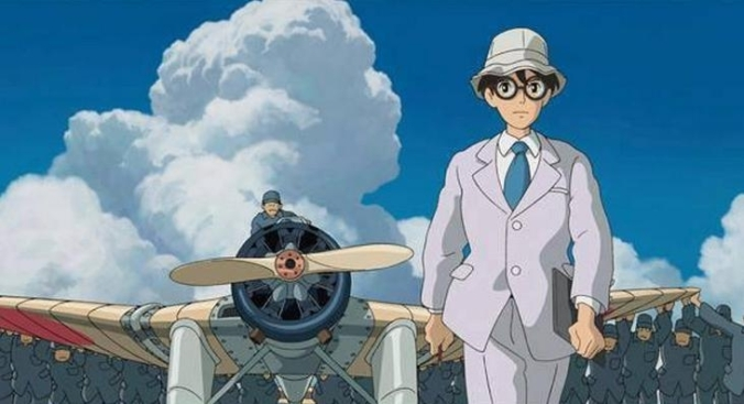Horikoshi leads out his aircraft for a test flight