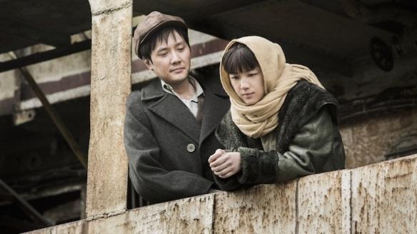 Xiao Jun  (Feng Shaofeng) and Xiao Hong (Tang Wei) the young lovers.