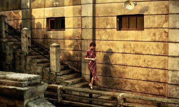 Tang Wei as Xiao Hong in Golden Era