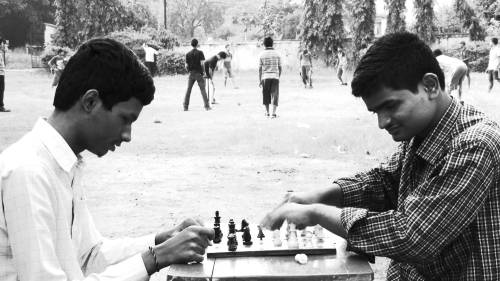 Kanta struggled to find the time for chess with all his college work to do