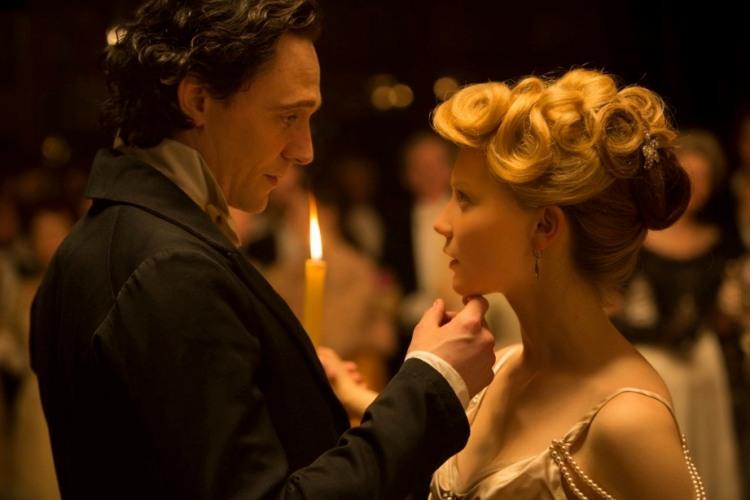 Tom Hiddleston and Mia Wiakowska
